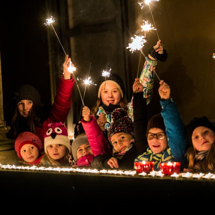 Štastný nový rok z Moravského Krumlova