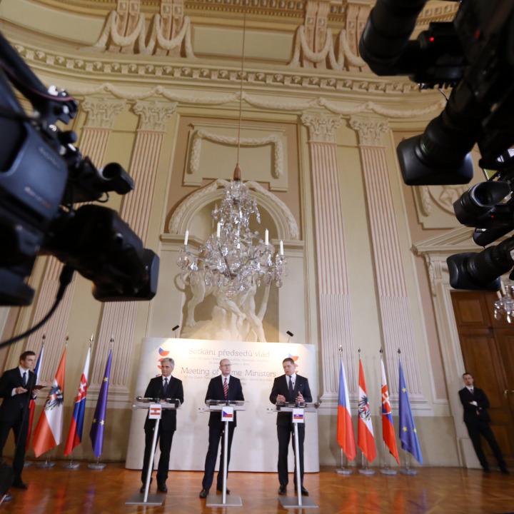 Setkání tří premiérů